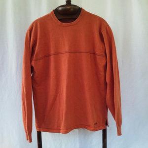 Izod sweater Size M Orange 100% cotton Pullover